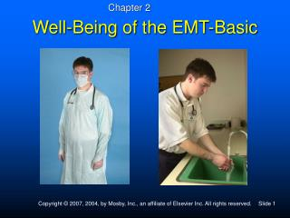 Well-Being of the EMT-Basic