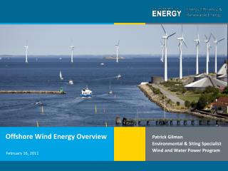Offshore Wind Energy Overview