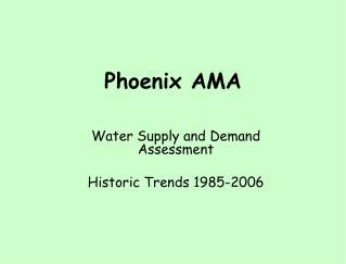 Phoenix AMA