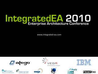 Enterprise Architecture in the Ministry of Defence