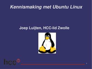 Kennismaking met Ubuntu Linux