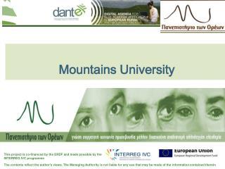 Mountains University