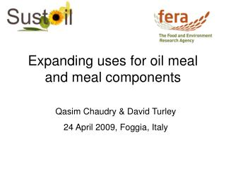 Expanding uses for oil meal and meal components