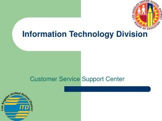 Information Technology Division
