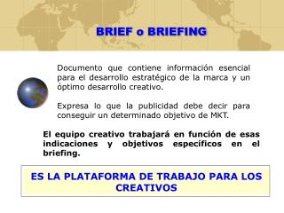 BRIEF o BRIEFING