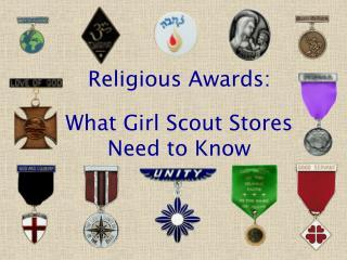 Religious Awards:
