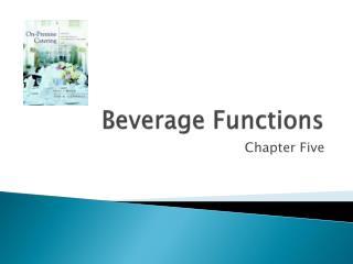 Beverage Functions
