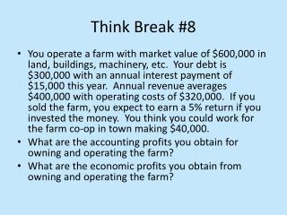 Think Break #8