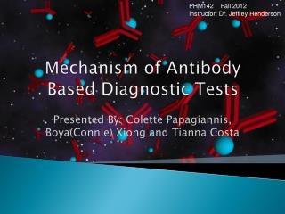 Mechanism of Antibody Based Diagnostic Tests