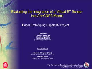 Evaluating the Integration of a Virtual ET Sensor into AnnGNPS Model