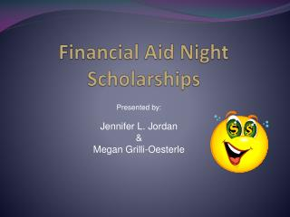 Financial Aid Night  Scholarships