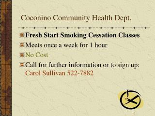 Coconino Community Health Dept.