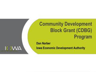 Community Development Block Grant (CDBG) Program