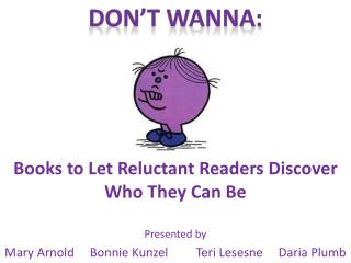 Books to Let Reluctant Readers Discover Who They Can Be