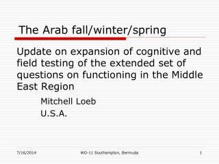 Mitchell Loeb U.S.A.