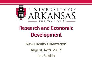 Research and Economic Development