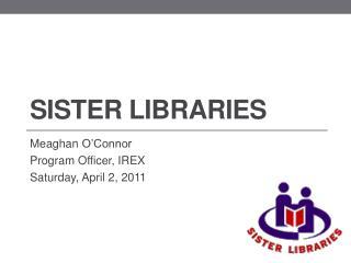Sister Libraries