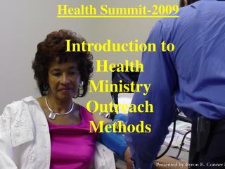 Health Summit-2009