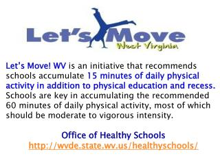 Benefits the Whole Child Improved Health Outcomes Increased Academic Achievement