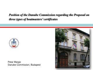 Petar Margic Danube Commission, Budapest
