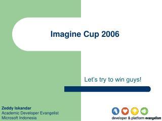 Imagine Cup 2006