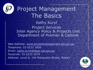 Project Management  The Basics