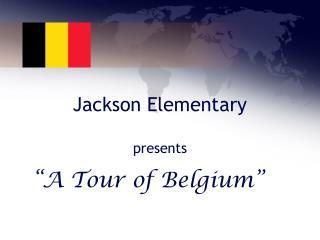 Jackson Elementary presents