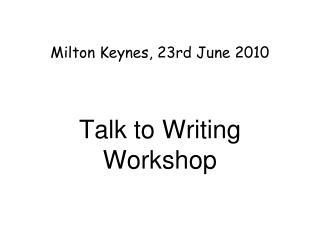 Milton Keynes, 23rd June 2010
