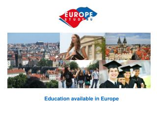 Education available in Europe