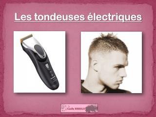 Les tondeuses électriques