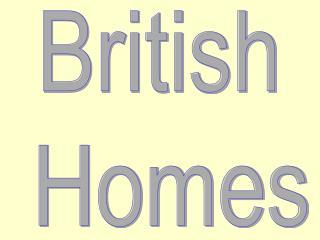 British  Homes