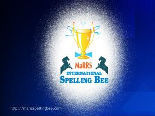 1 st  & LARGEST Spelling Competition in Asia for school children.