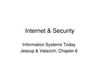 Internet & Security