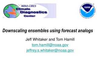 Downscaling ensembles using forecast analogs