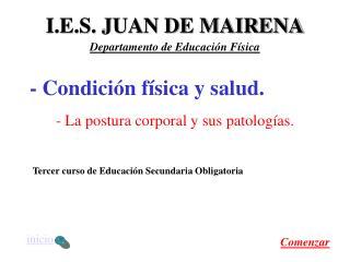 I.E.S. JUAN DE MAIRENA