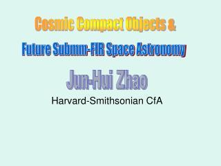 Harvard-Smithsonian CfA