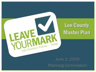 Lee County Master Plan