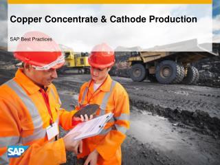 Copper Concentrate & Cathode Production
