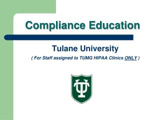 Compliance Education