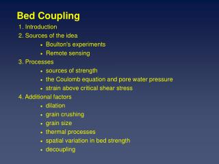 Bed Coupling