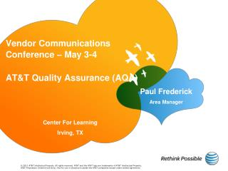 Vendor Communications Conference – May 3-4
