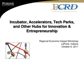Incubator, Accelerators, Tech Parks, and Other Hubs for Innovation & Entrepreneurship