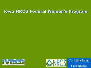Iowa NRCS Federal Women's Program