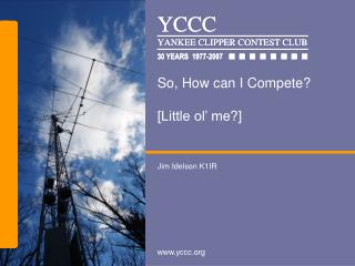 So, How can I Compete? [Little ol' me?]