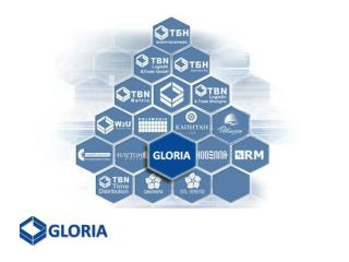 """Юридическая компания  """"GLORIA""""  входит в состав международного холдинга «TBN  Group »;"""