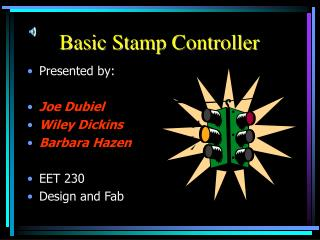 Basic Stamp Controller