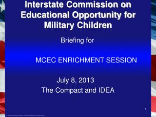 Interstate Commission on Educational Opportunity for Military Children
