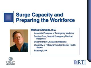 Surge Capacity and Preparing the Workforce