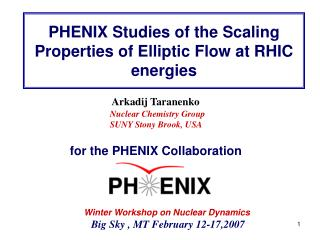 PHENIX Studies of the Scaling Properties of Elliptic Flow at RHIC energies