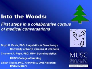 Into the Woods: First steps in a collaborative corpus of medical conversations
